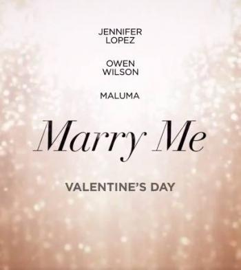 "Jennifer Lopez revela estreno de ""Marry Me"""