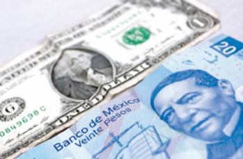 Peso avanza a mejor nivel desde marzo; cotiza en 21.16 por dólar