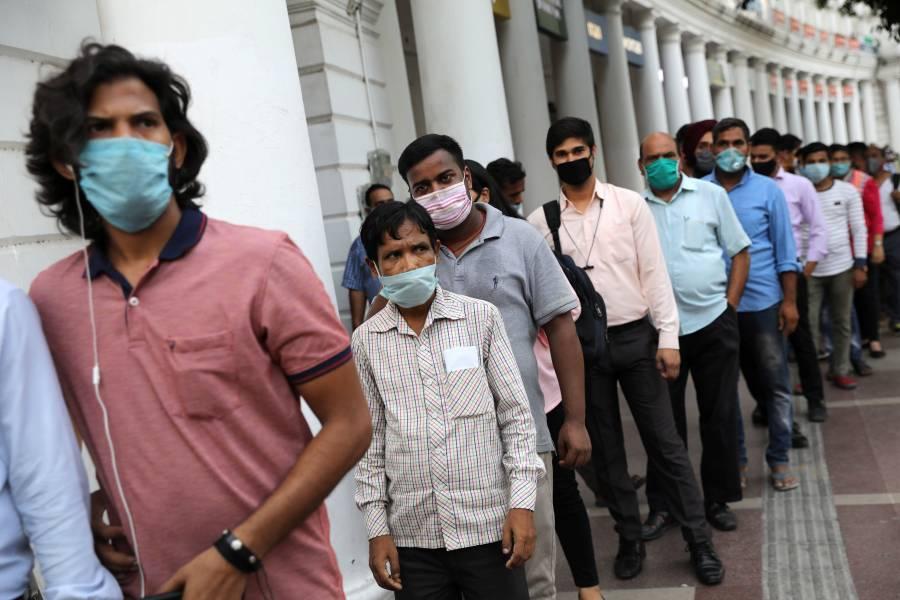India se acerca a los 5 millones de casos por COVID-19
