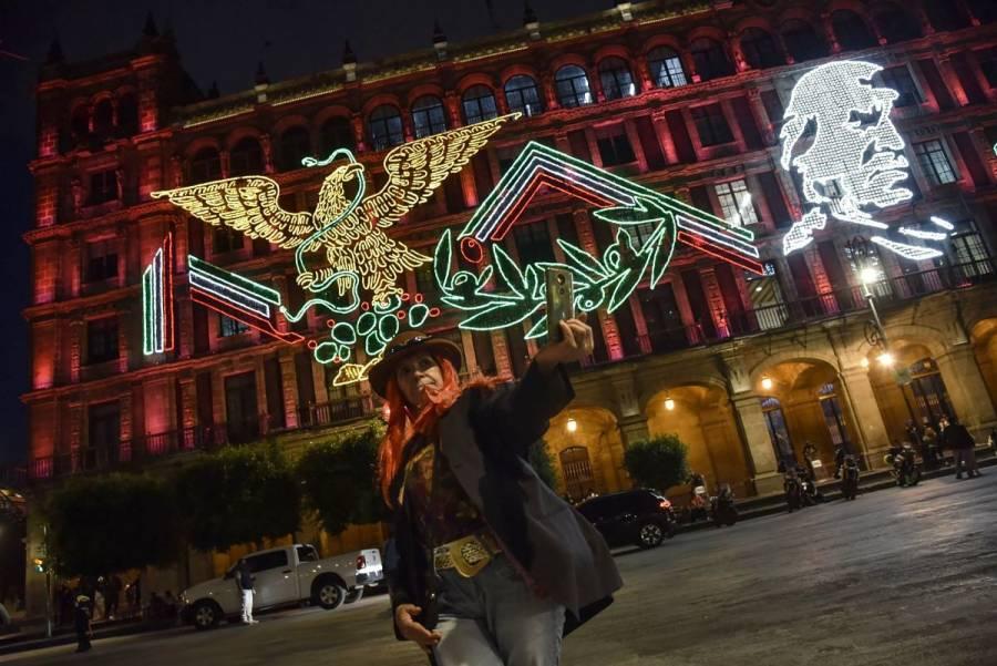 """Encenderán pebetero para representar la """"Llama de la Esperanza"""" en el Zócalo"""