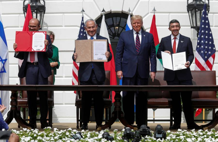Emiratos Árabes Unidos y Baréin firman acuerdos con Israel en la Casa Blanca