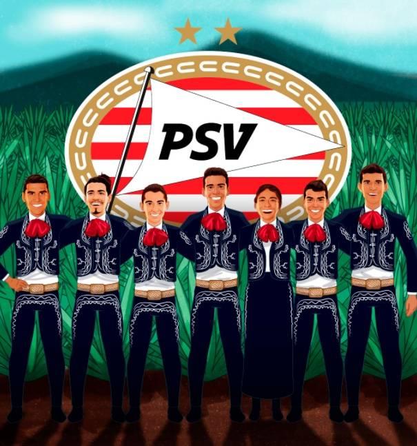 """PSV Eindhoven se denomina """"el club más mexicano de Europa"""""""