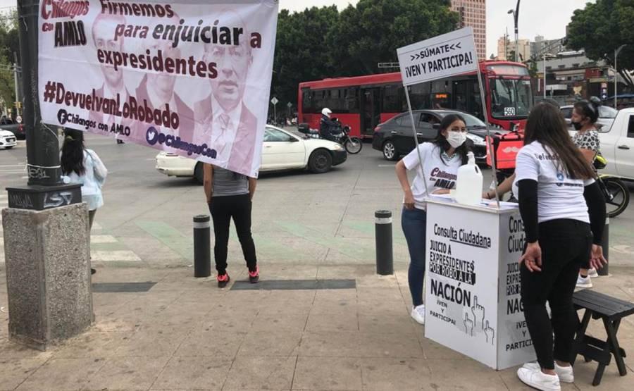 DIPUTADOS DE MORENA ACOMPAÑARÁN PROPUESTA DEL EJECUTIVO PARA ENJUICIAR A EXPRESIDENTES