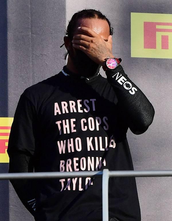 """""""No dejaré de hacer campaña por la justicia racial"""": Lewis Hamilton"""