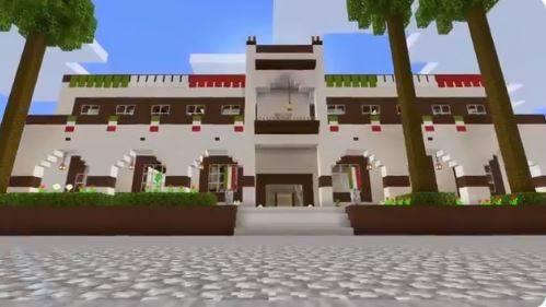 Municipio de Escobedo realiza Grito de Independencia al estilo Minecraft