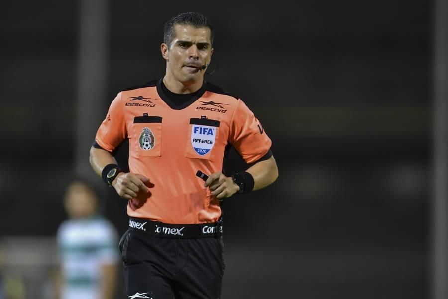 Fernando Hernández pitará el América vs Chivas