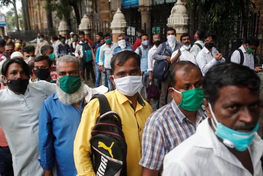 India supera los 5 millones de contagios por Covid-19