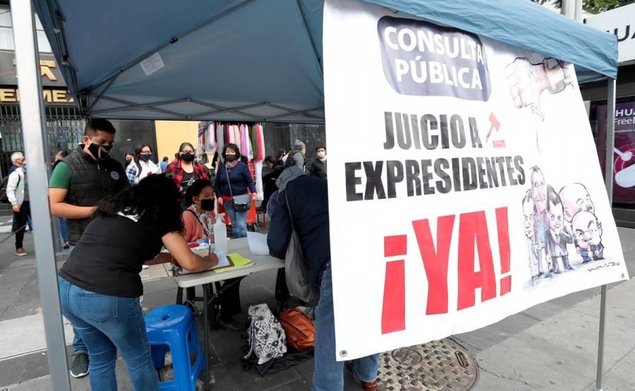 ACUSA PRD FINES POLÍTICOS TRAS CONSULTASPOPULAR PARA ENJUICIAMIENTO A EX PRESIDENTES