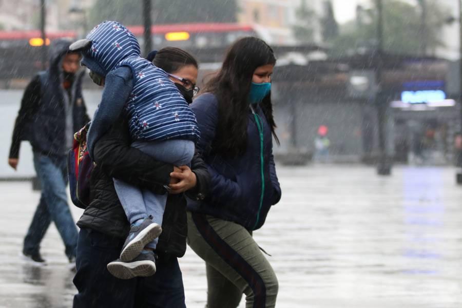 Por fuertes lluvias, activan Alerta Amarilla en seis alcaldías de la CDMX