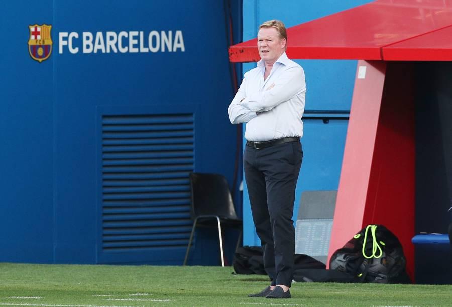 Koeman no descarta la permanencia de Luis Suárez en el Barcelona