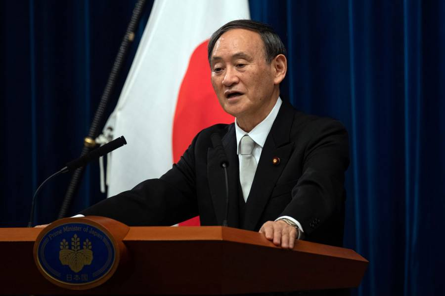 Designan a Yoshihide Suga como primer ministro de Japón tras renuncia de Shinzo Abe