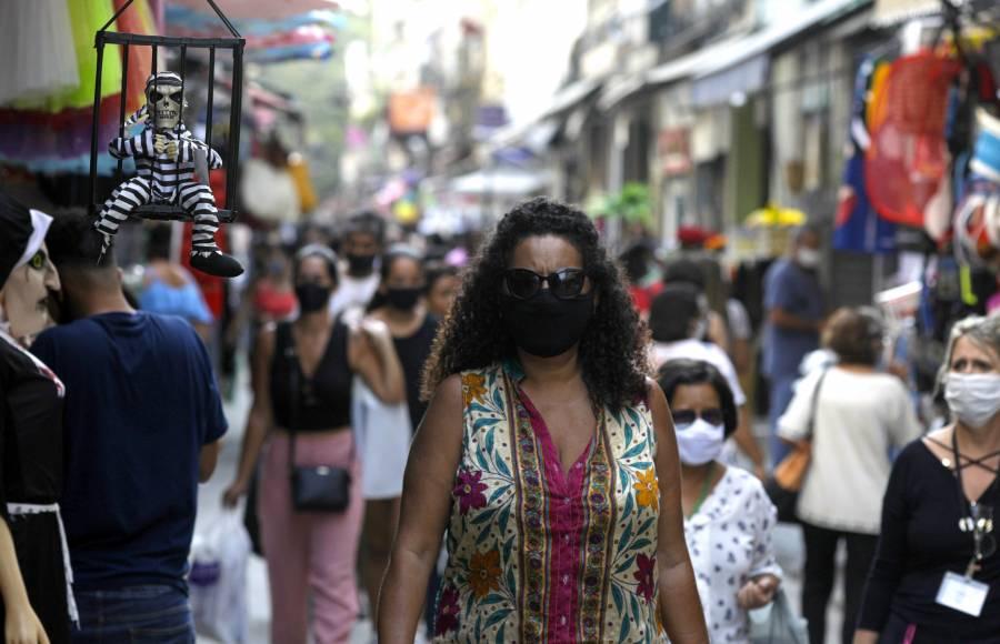 Brasil registra más de 36 mil nuevos casos de COVID-19