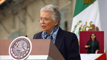 Sánchez Cordero lamenta muerte de diputado de PES por Covid-19