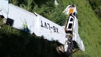 Aeronave se desploma en Durango; reportan dos personas muertas