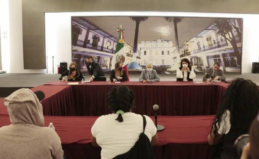 Sánchez Cordero se reúne con colectivos de mujeres en Segob