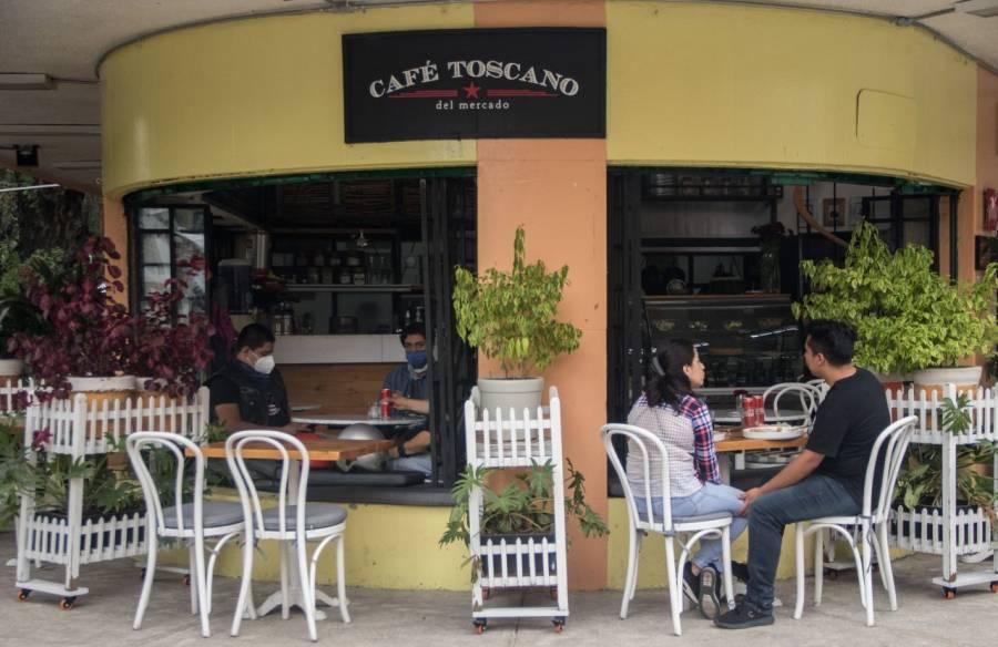 Sector restaurantero en CDMX, cuesta abajo por limitación de aforo