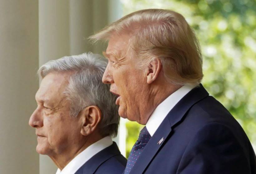 """No vamos a confrontarnos"", responde AMLO a Trump"