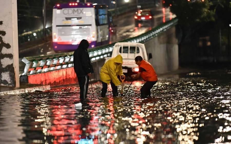 Lluvia del miércoles, de las peores en 20 años: Sheinbaum