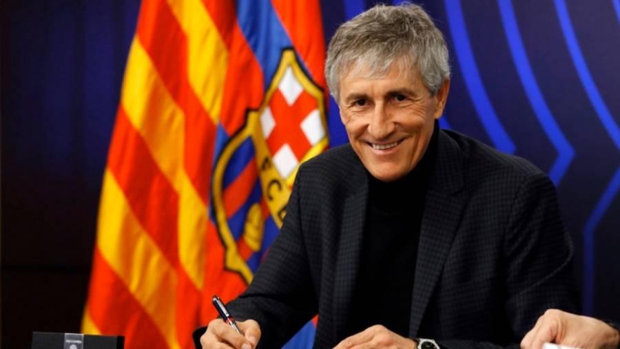 Quique Setién y cuerpo técnico demandaran a Barcelona por despidos