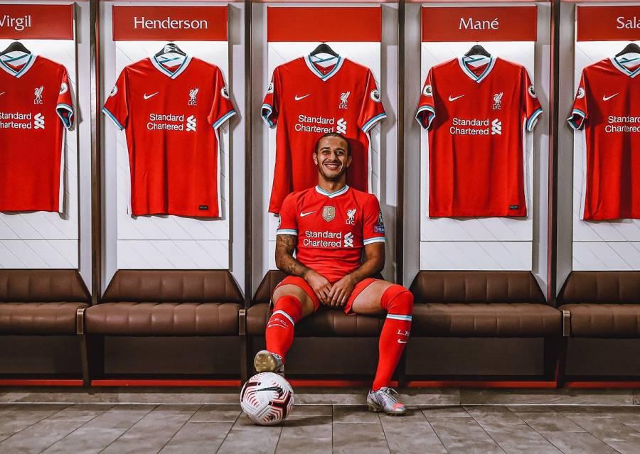 Liverpool completa fichaje de Thiago procedente del Bayern