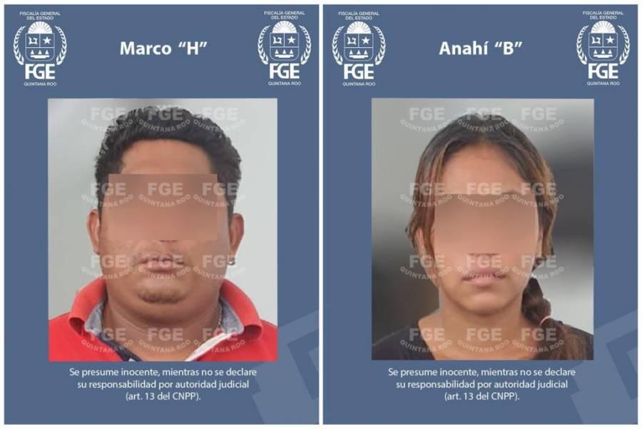 FGE Quintana Roo detiene a dos feminicidas de menor de edad