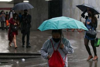 Se pronostican lluvias fuertes para la tarde en CDMX