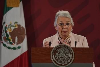 Se reúne Sánchez Cordero con colectivos feministas