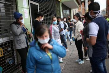 Colombia rebasa los 750 mil casos por Covid-19