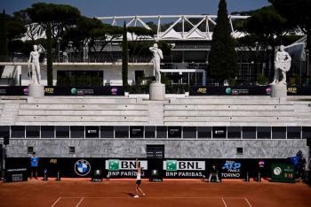 Abierto de Italia contará con presencia de público en última fase
