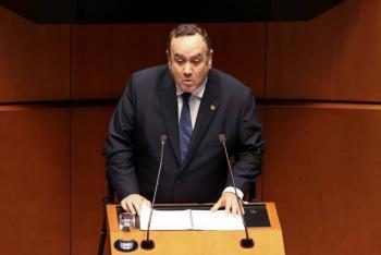 Dio positivo por Covid-19 el presidente de Guatemala