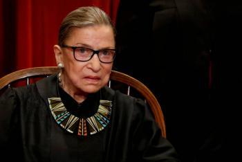 Sorprende a Trump muerte de la Jueza Bader