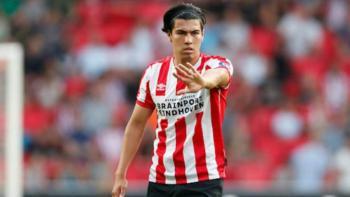 Erick Gutiérrez será baja tres meses en el PSV tras lesión en el tobillo