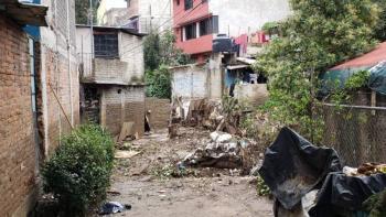 Sacan 20 toneladas de basura que agravó estragos de lluvia