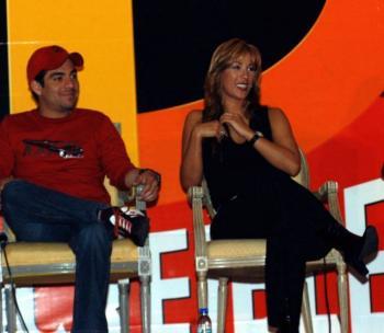 Omar Chaparro y Consuelo Duval, positivos por Covid-19