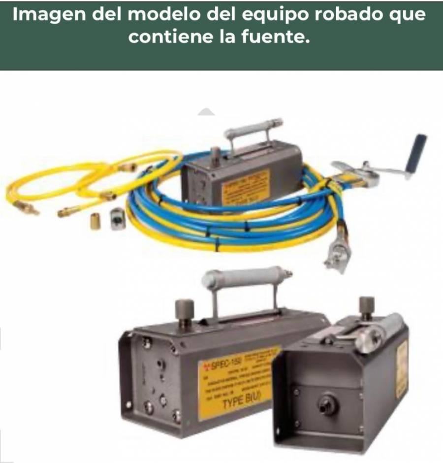 Protección Civil emite alerta por robo de fuente radioactiva en Ciudad Obregón, Sonora