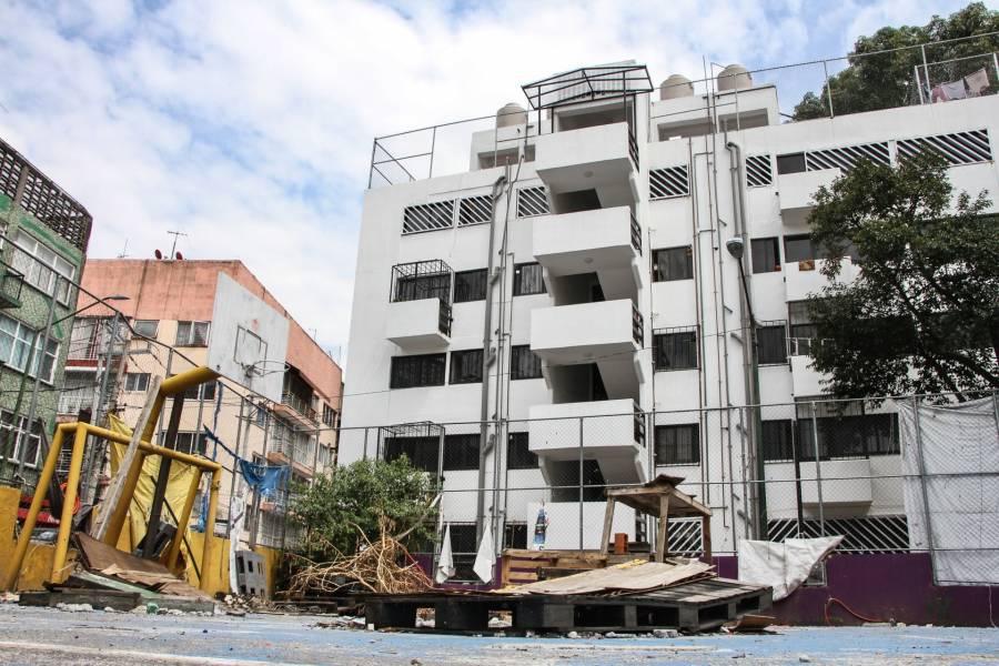 Recuerdan a víctimas del Multifamiliar Tlalpan por sismo del 19 de septiembre