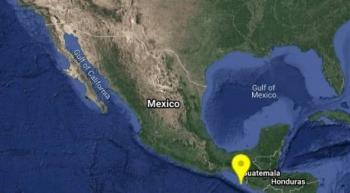 Sismo de 4.6 sacude Chiapas