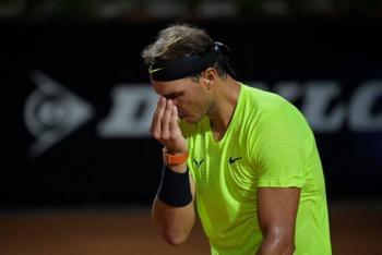 Eliminan a Rafael Nadal del Masters de Roma