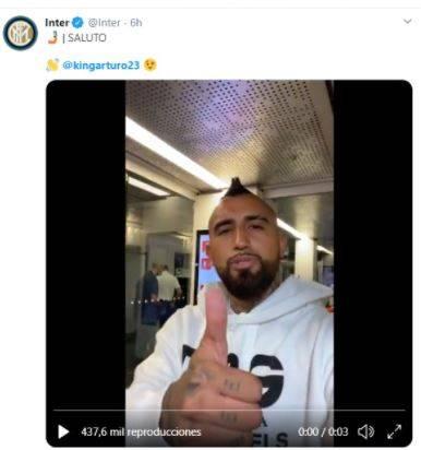 Desde Milán, Arturo Vidal advierte al Inter