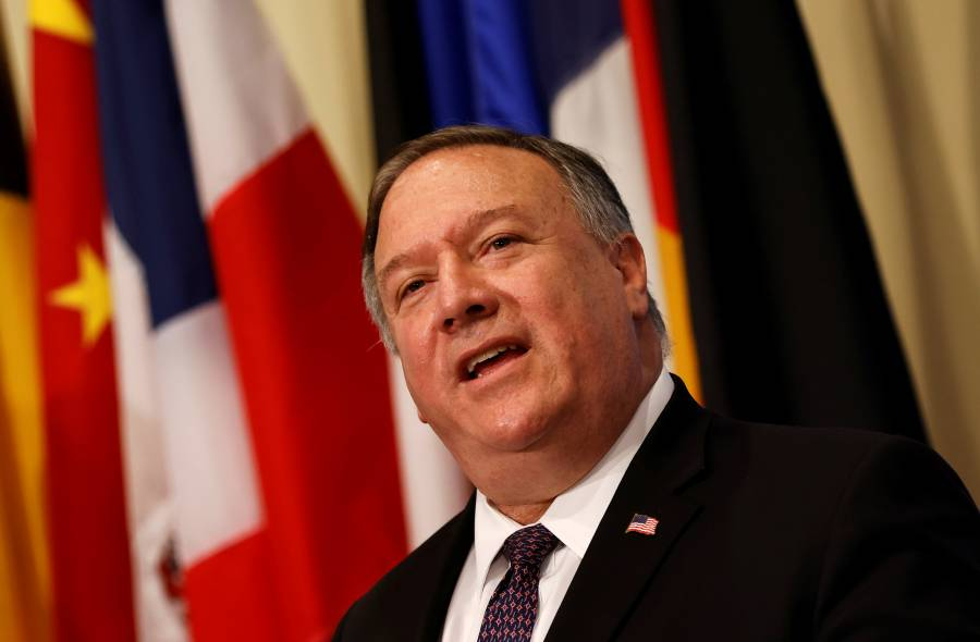 Pompeo anuncia nuevas sanciones de EU contra Irán