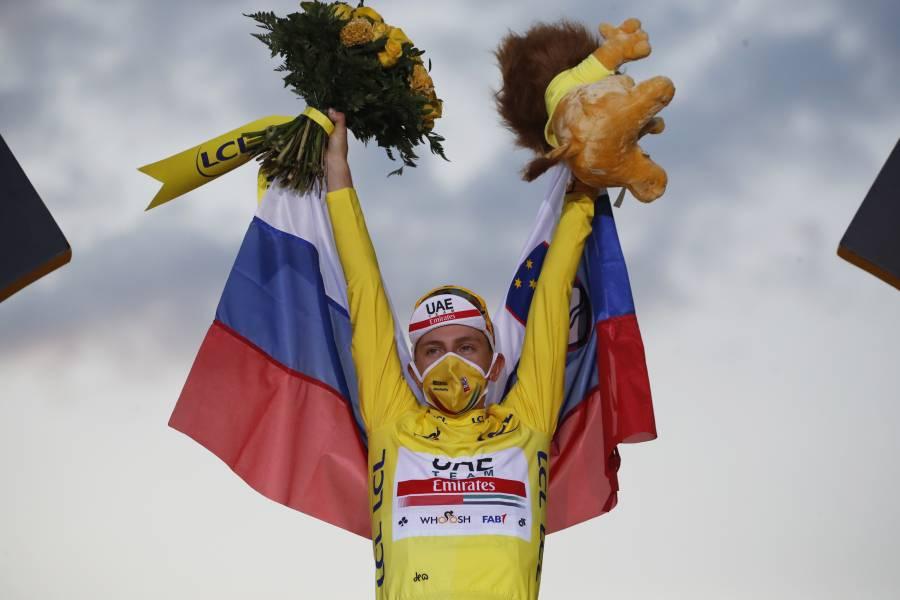 Pogacar, primer esloveno en ganar el Tour de Francia