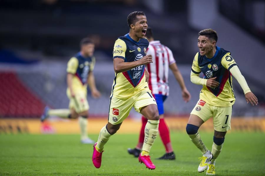 América se lleva el Clásico ante Chivas con golazo de Giovani dos Santos