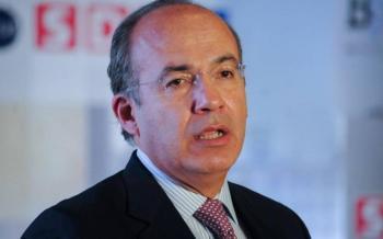 Felipe Calderón se solidariza con FRENAAA; manda mensaje de apoyo