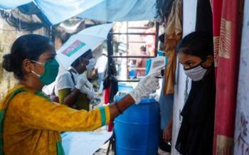Registran más de 90 mil contagios diarios por Covid-19 en la India