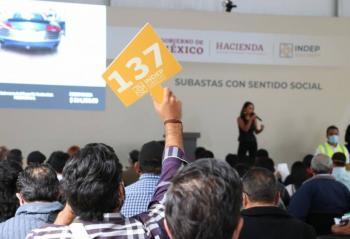Inicia subasta en Los Pinos; recursos serán destinados al sector salud