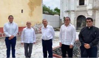 AMLO termina la jornada de evaluación de reconstrucción en Jojutla