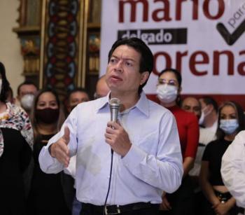 CON DEMANDA DE INGRESO ÚNICO VITAL NO SE DEBE CAER EN SALIDAS FÁCILES, SINO MANTENER FINANZAS SANAS: MARIO DELGADO