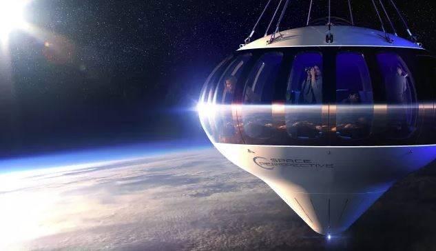 Diseñan globo para viajes turísticos en el espacio