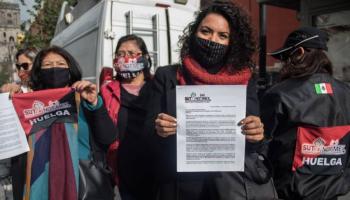 Periodistas del Sutnotimex piden a AMLO, intervenga en la huelga