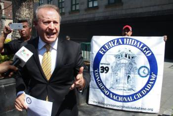 Este es Gilberto Lozano, líder del Frente Anti AMLO